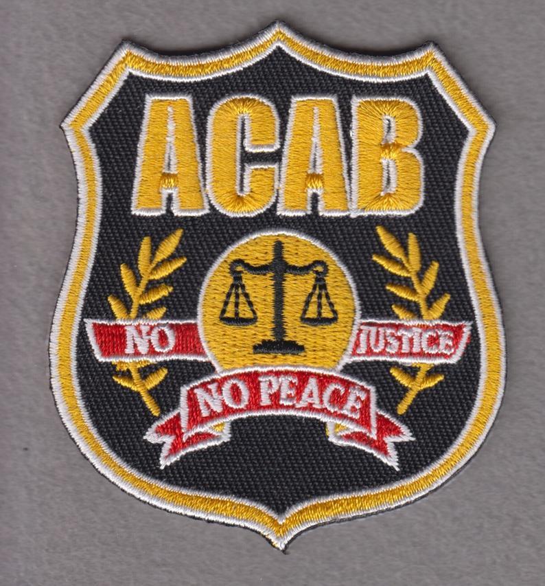 Image of ACAB Philadelphia Police Parody PATCH!