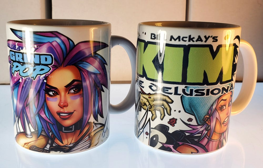 Image of Kim the Delusional Coffee Mug Design Set