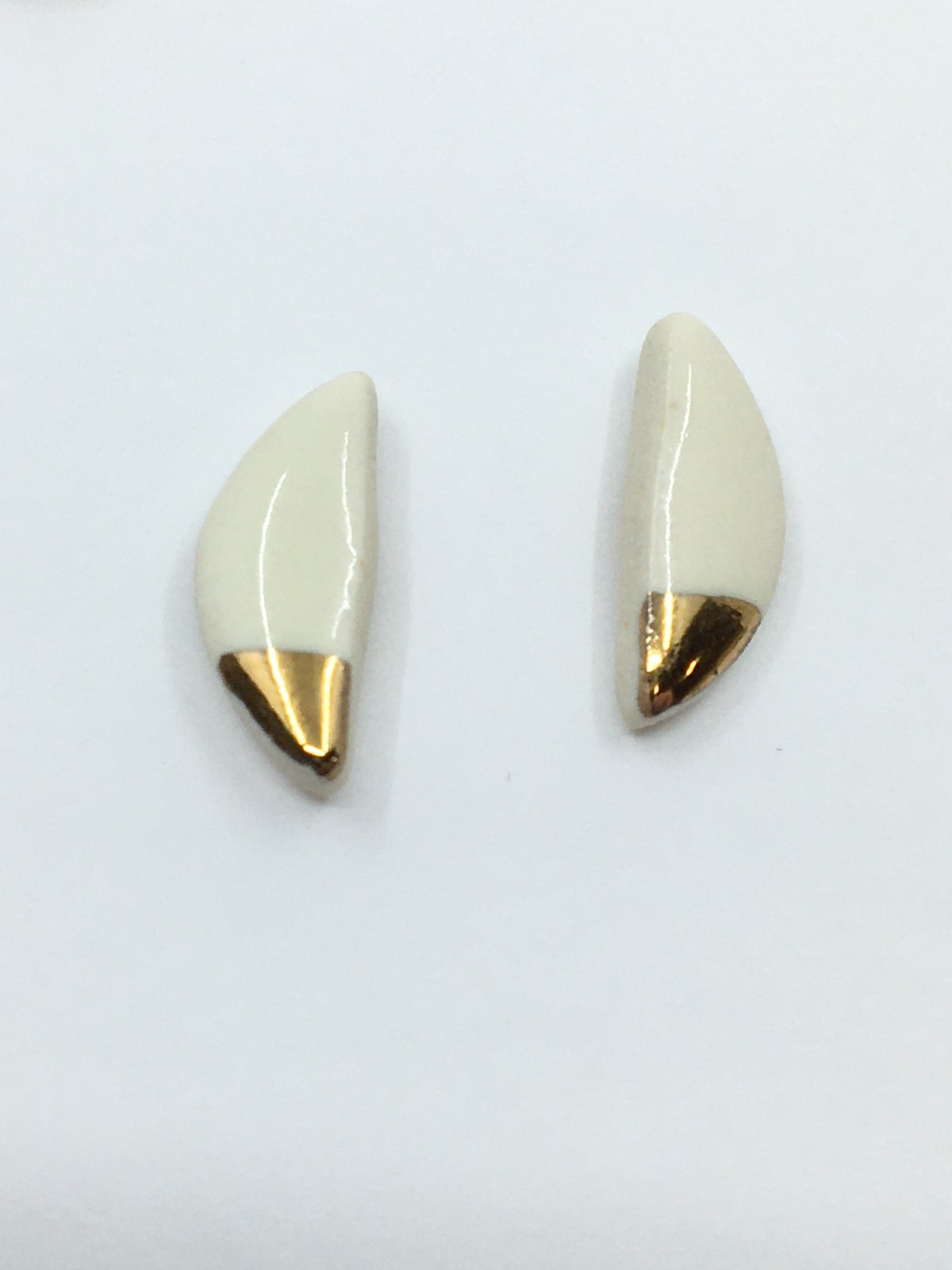 Assorted Gold Luster Studs by Zoe Comings