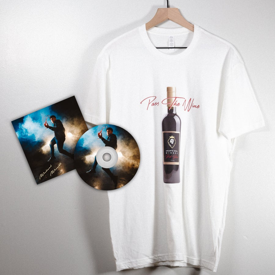 Image of Pass The Wine Package (Signed CD & T-Shirt)