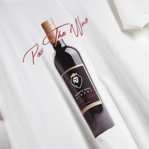 Image of Pass The Wine T-Shirt (White)