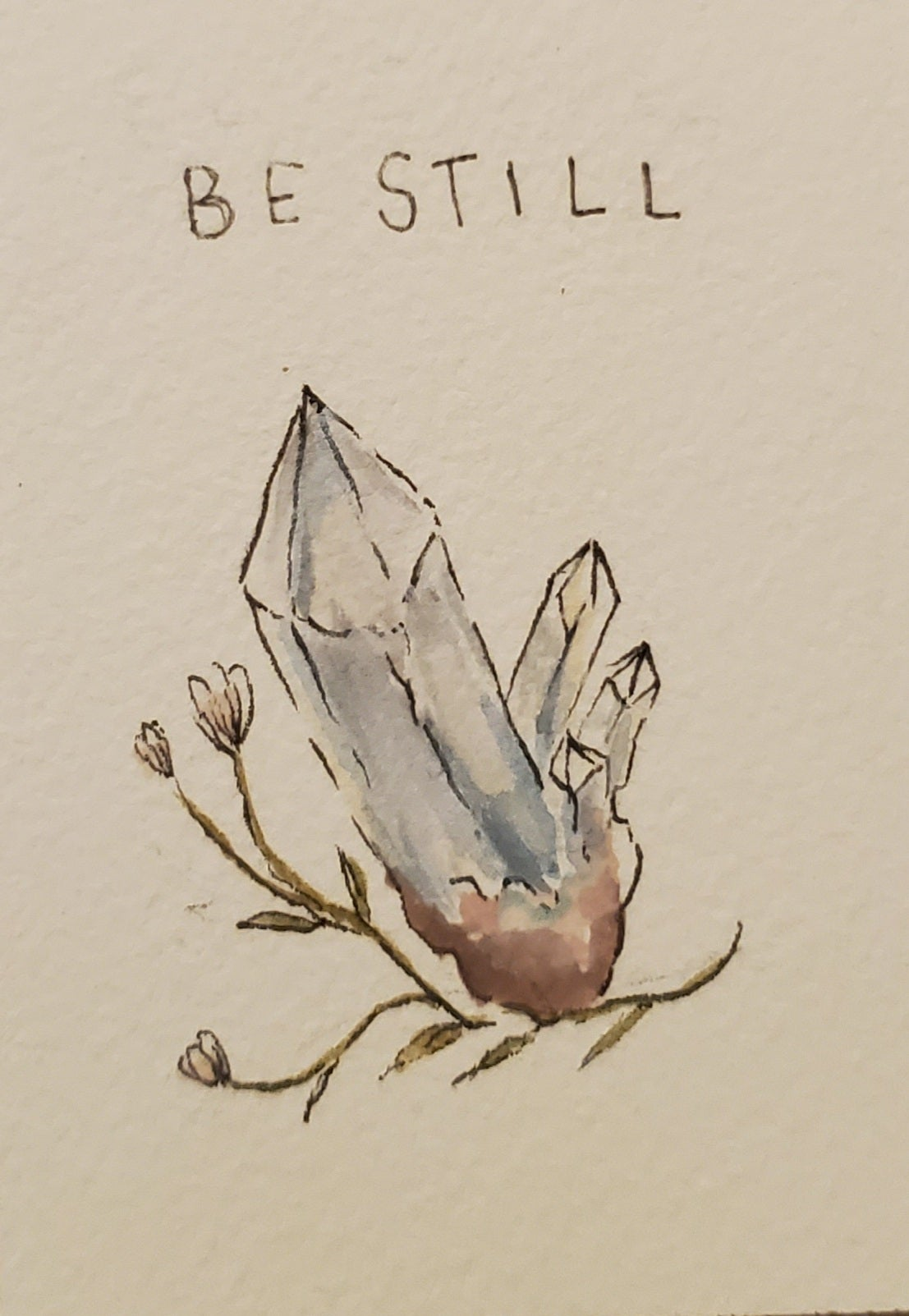Image of Be soft. Be silent. Be still