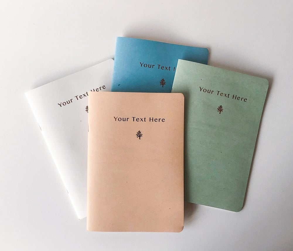Image of Personalized notebook A5 size