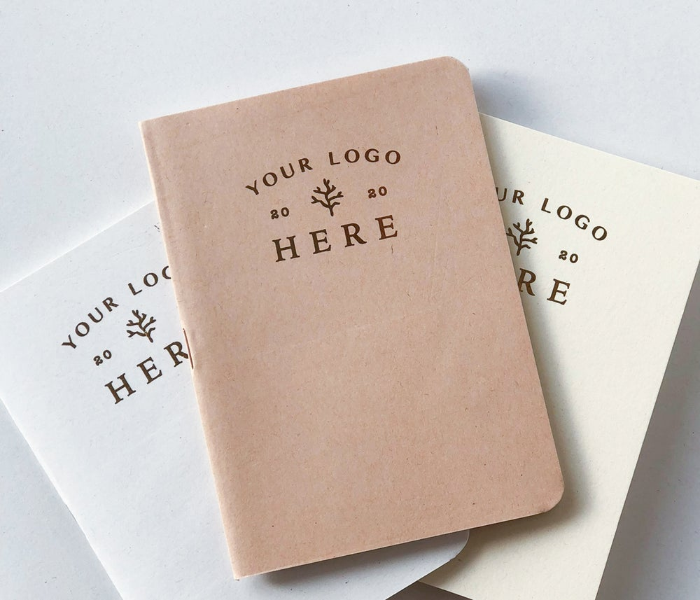 Image of Personalized A5 size notebook