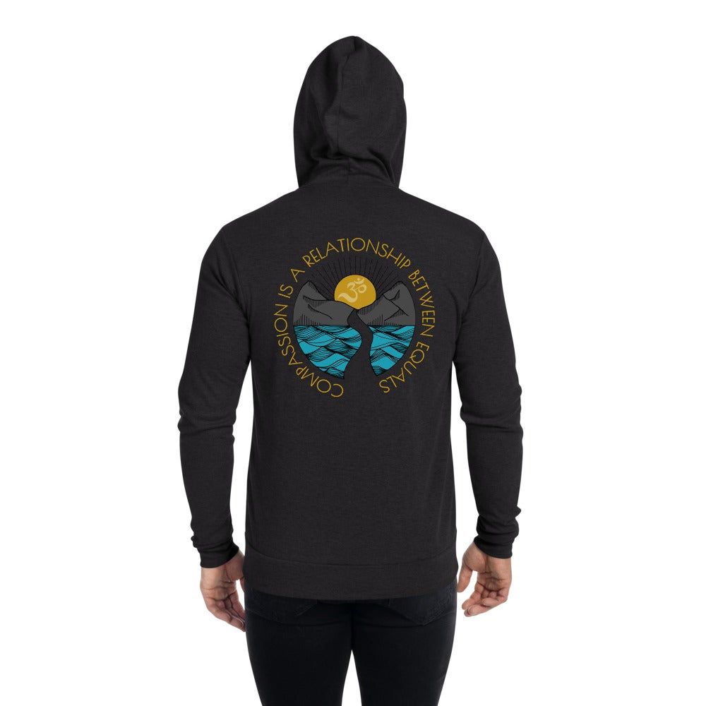 """Image of """"Compassion is a relationship..."""" classic hoodie"""