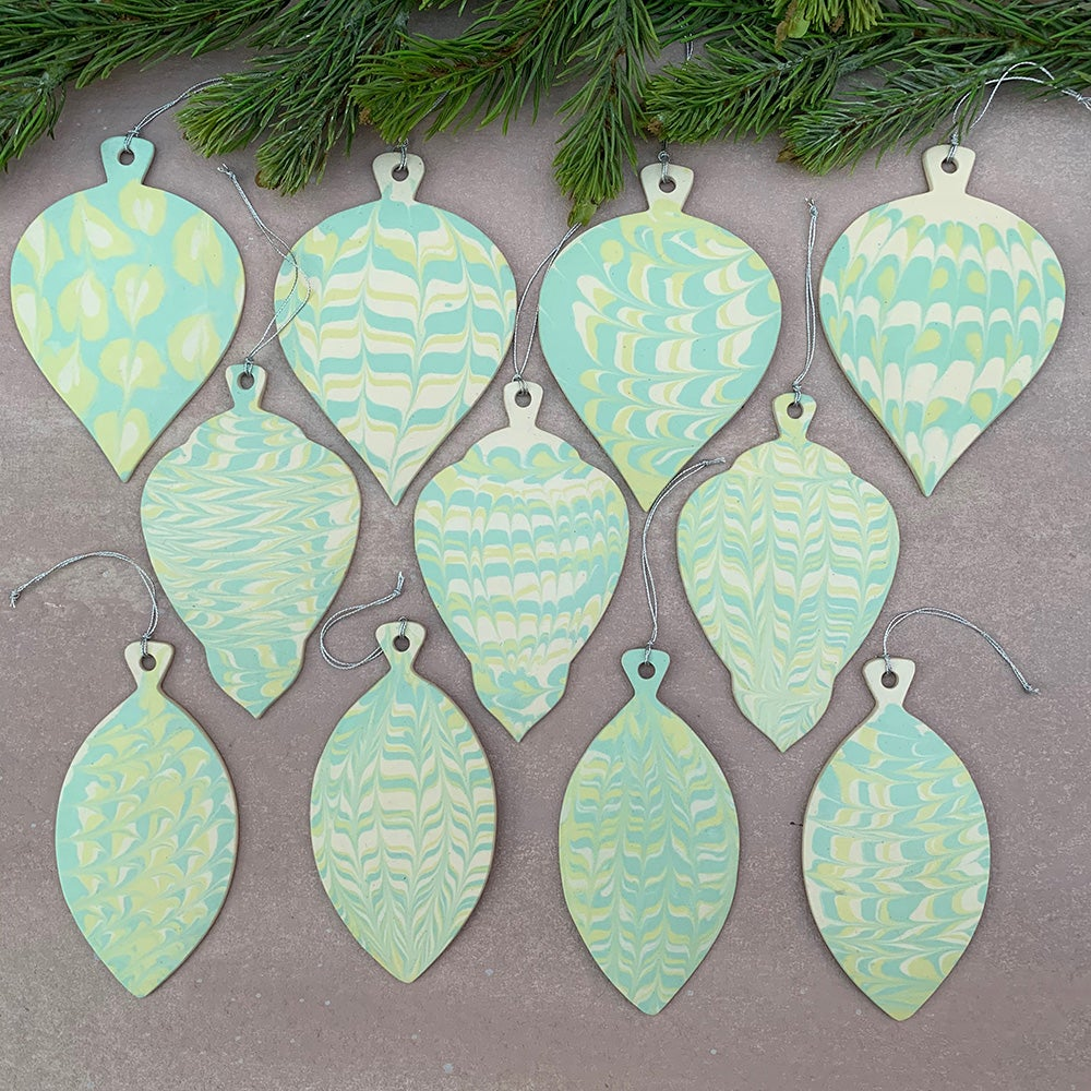 Green Holiday Ornament 3