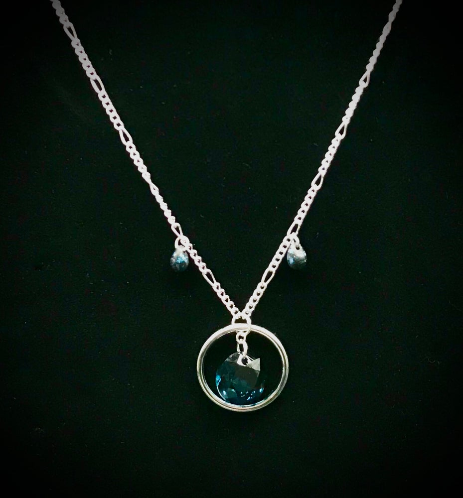 Image of Montana Sky Drops Necklace