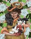 April Giclee Print