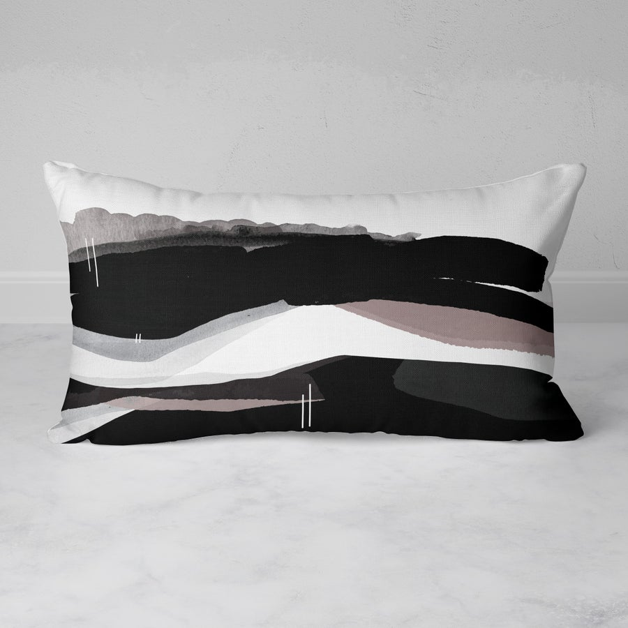 Image of Meander Rectangular Throw Pillow