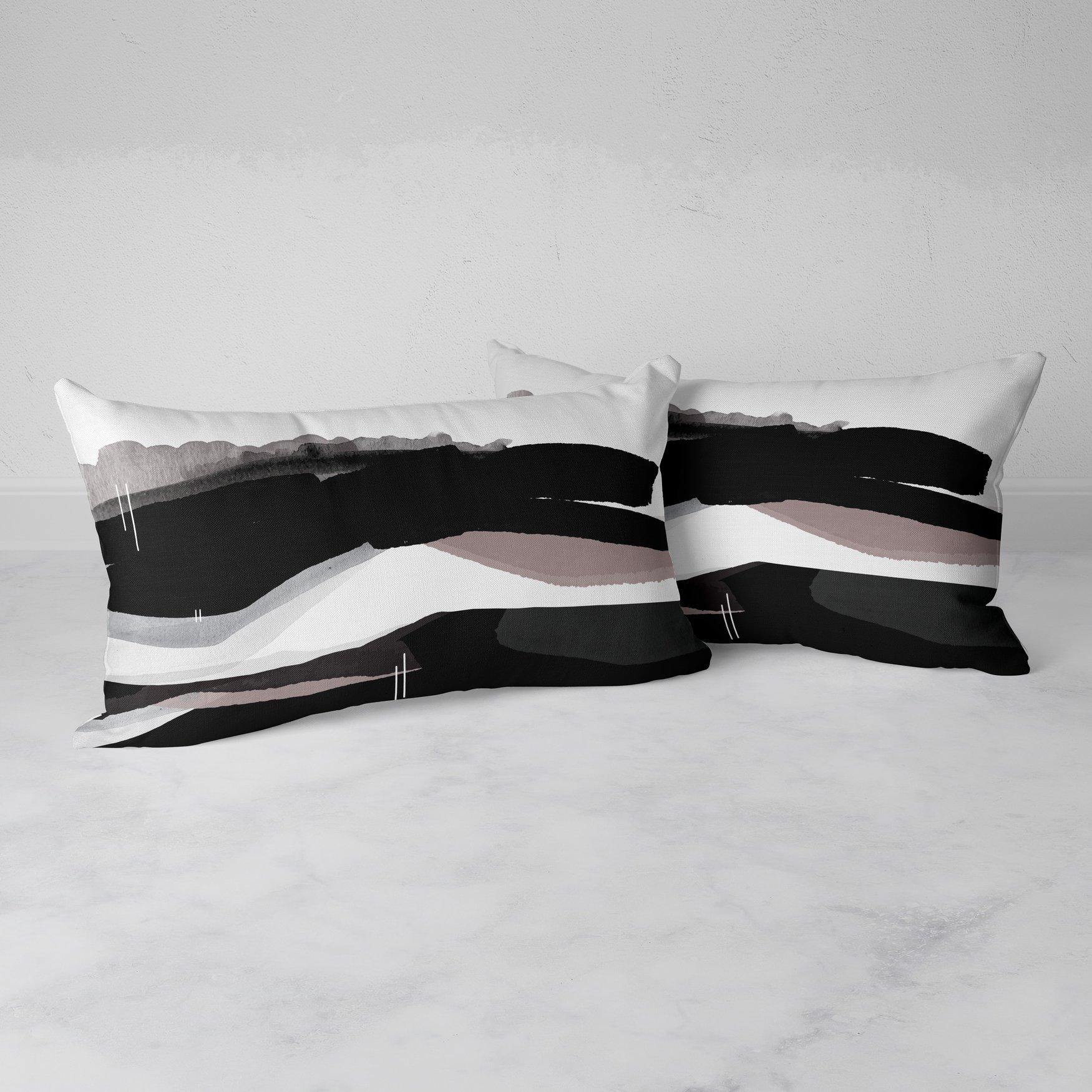 Image of Meander Rectangular Throw Pillow