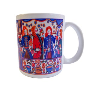 """Image of """"Fest"""" Mugs by Alison Aune"""