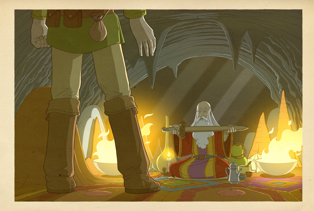 Image of The Legend of Zelda - The Cave Sage