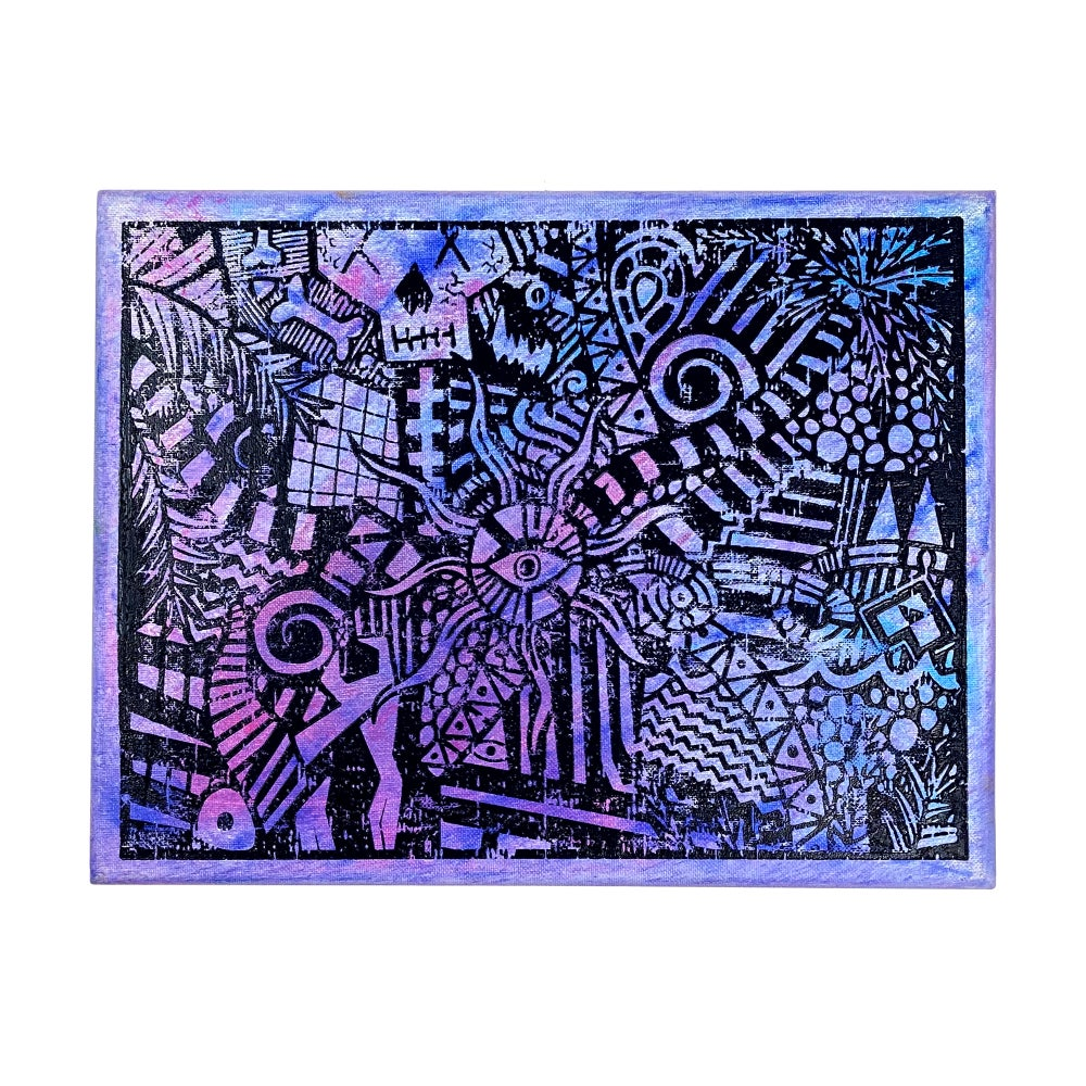 "Image of ""Purple Lucid Dream"" | AKG Williams"