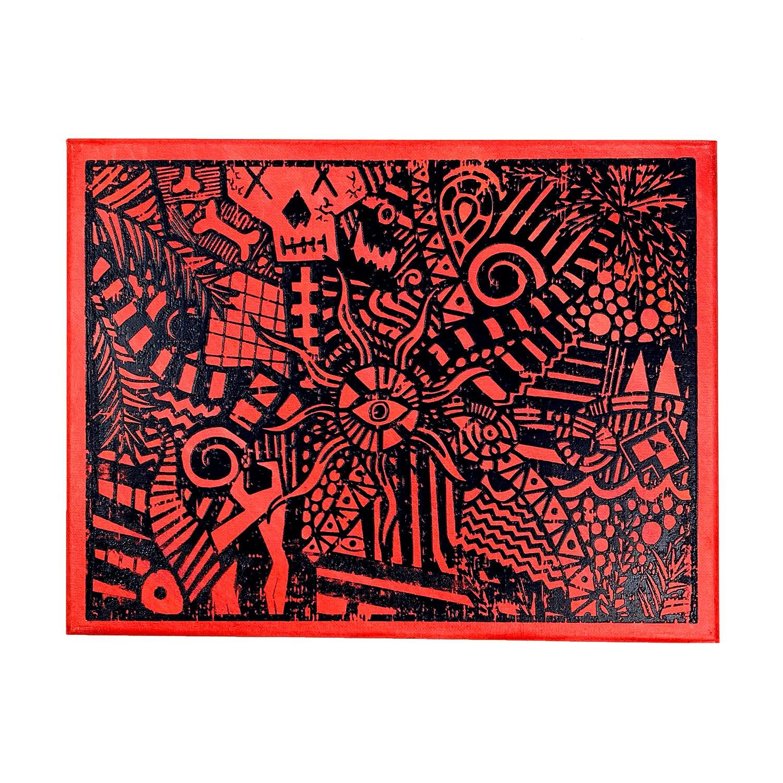 "Image of ""Red Lucid Dream"" | AKG Williams"
