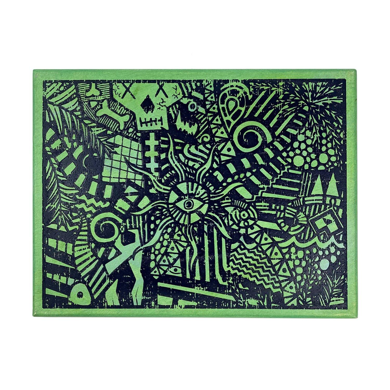 "Image of ""Green Lucid Dream"" | AKG Williams"
