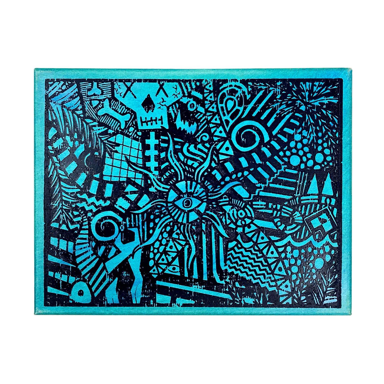 "Image of ""Blue Lucid Dream"" | AKG Williams"