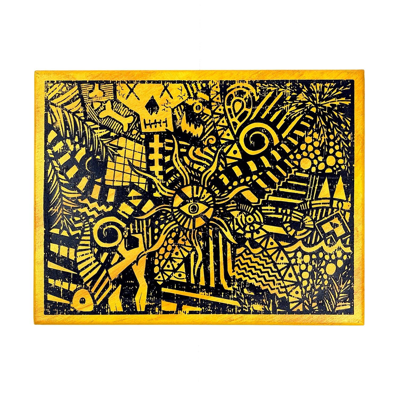 "Image of ""Yellow Lucid Dream"" | AKG Williams"