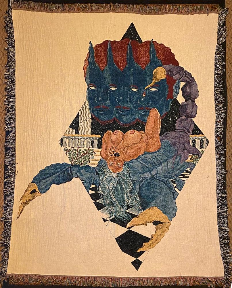 Image of Scorpio alley trifecta woven blanket PREORDER