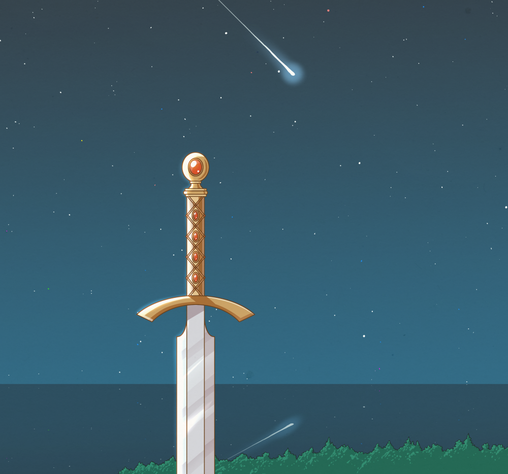 Image of The Adventure of Link - Title Screen