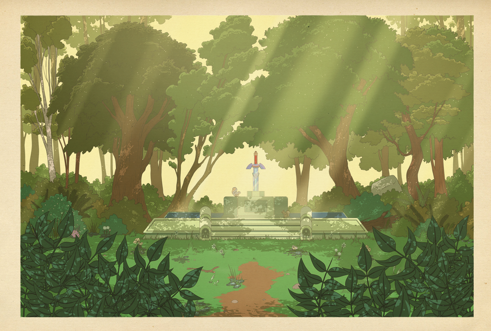 Image of A Link to the Past - The Sacred Grove