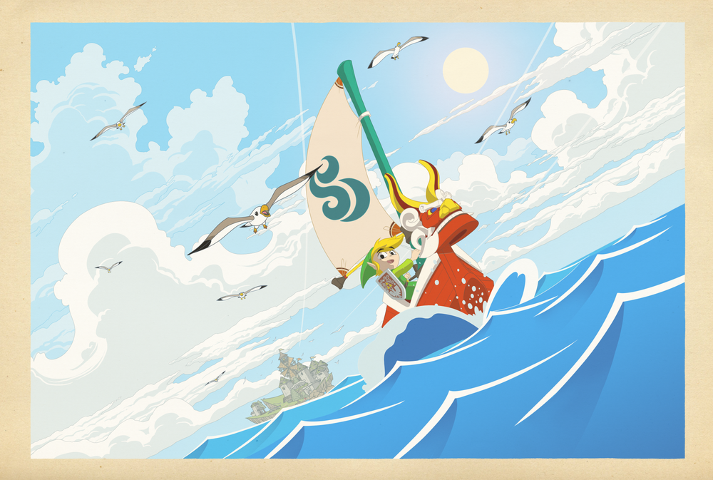 Image of Wind Waker - The Great Sea