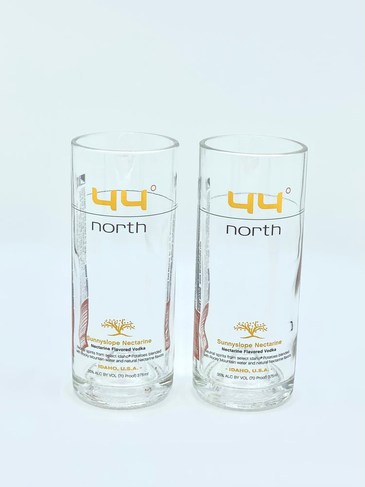 Image of 44° North Huckleberry Vodka Highball Glasses