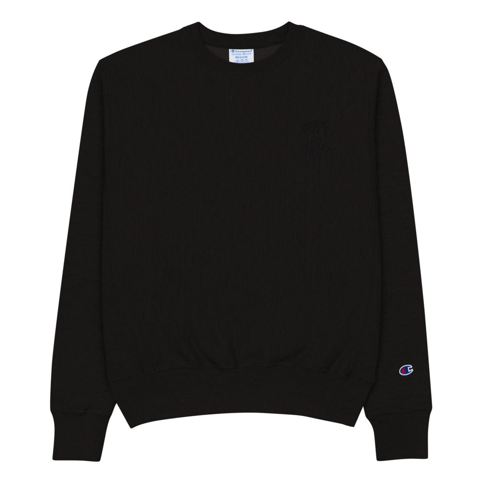 Toybox Dude Embroidered Champion Sweatshirt
