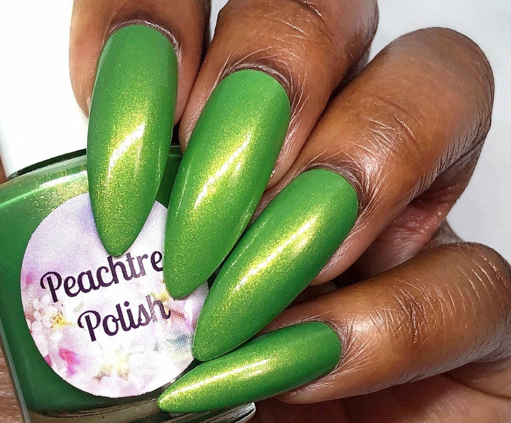 Image of Electric Lime Coleus Nail Polish