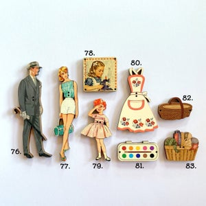 Image of French Decorative Novelty Buttons