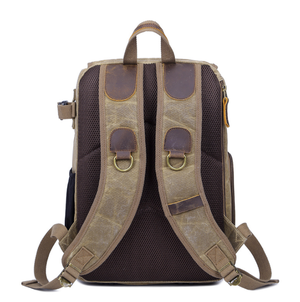 Image of hiking backpack with camera compartment