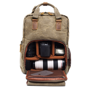 Image of camera and laptop backpack