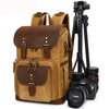 School backpack with camera compartment