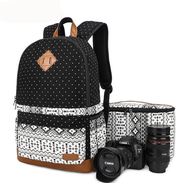 Image of stylish travel backpacks fashion rucksack