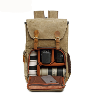 Image of camera backpack with laptop compartment