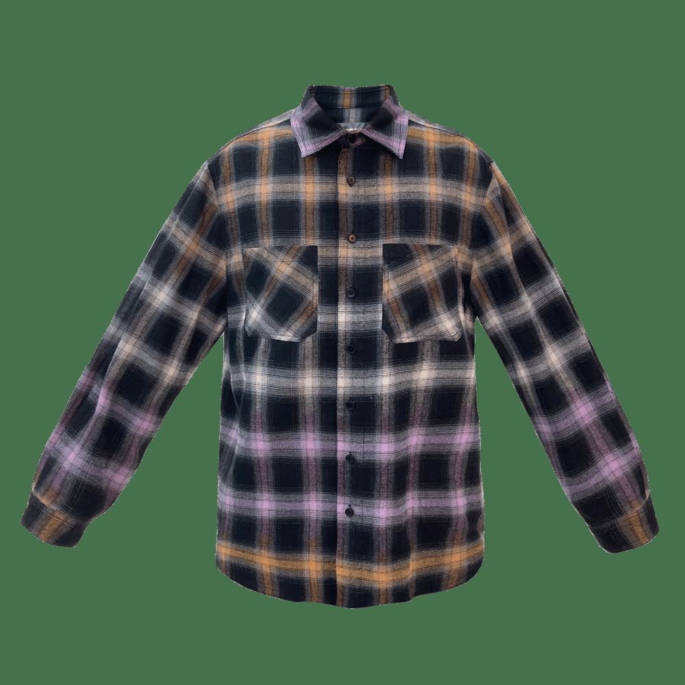 Image of Before Dark Oversized Check Shirt