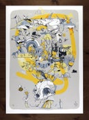 "Image 1 of ""That was just a dream"" - screenprint - 50x70cm"