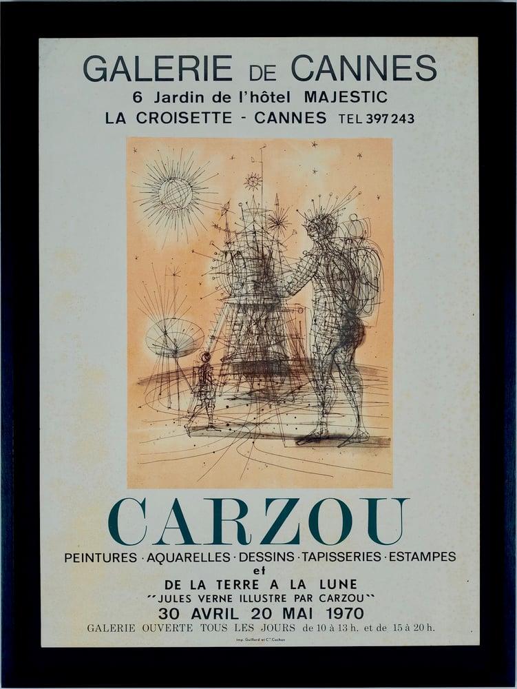 Image of carzou / jules verne illustre par carzou / poster / 22/011