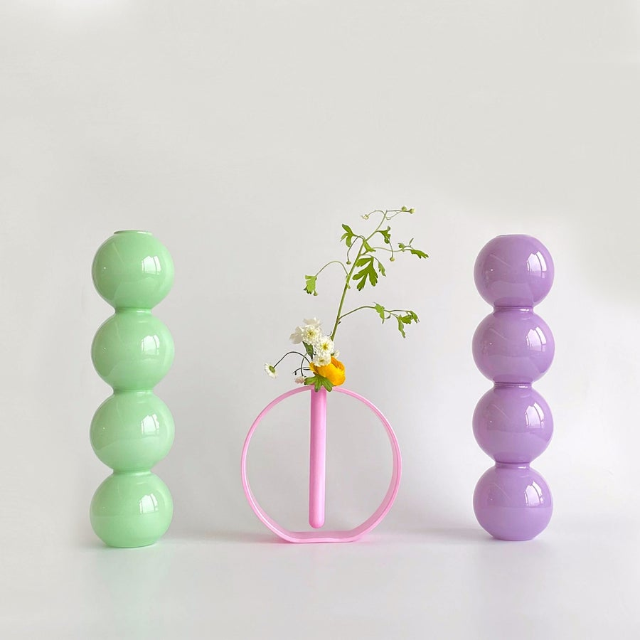 Image of Valeria Vasi BUBBLE vase & GAIA vase (Limited edition)