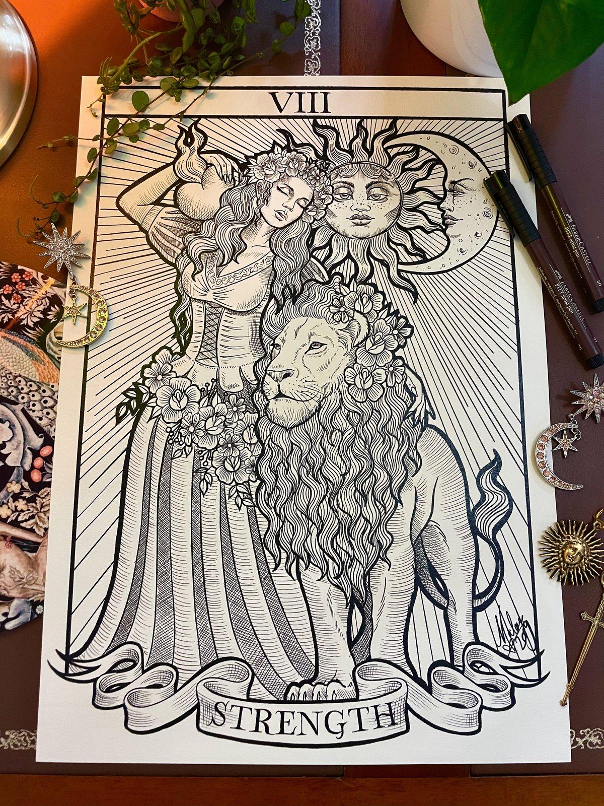 Tarot Card ~ A3 Print Set