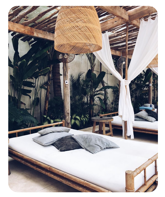 Image of BAMBOO DAY BED