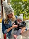 Mom & Child Ribbed hats