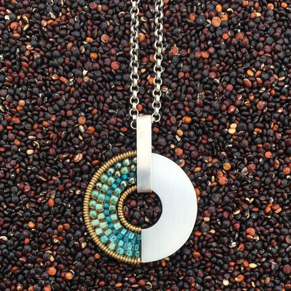 Image of Spinner Pendant Necklace