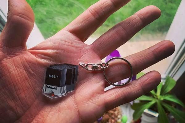 Image of Shure M44-7 keychain