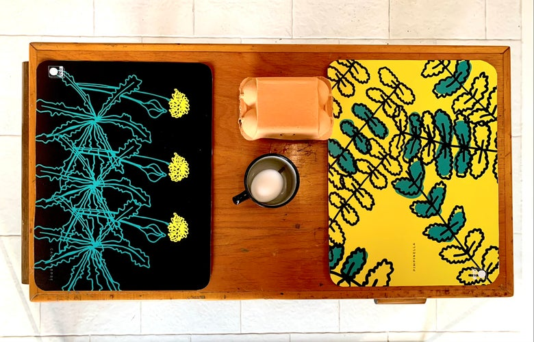 Image of Set da 4 Tovagliette Flower Power, scegli il tuo