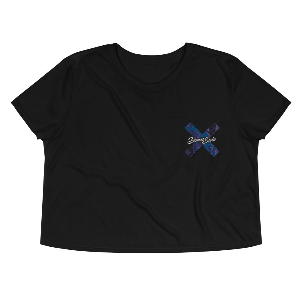 Image of Womens Liquid Crop Tee