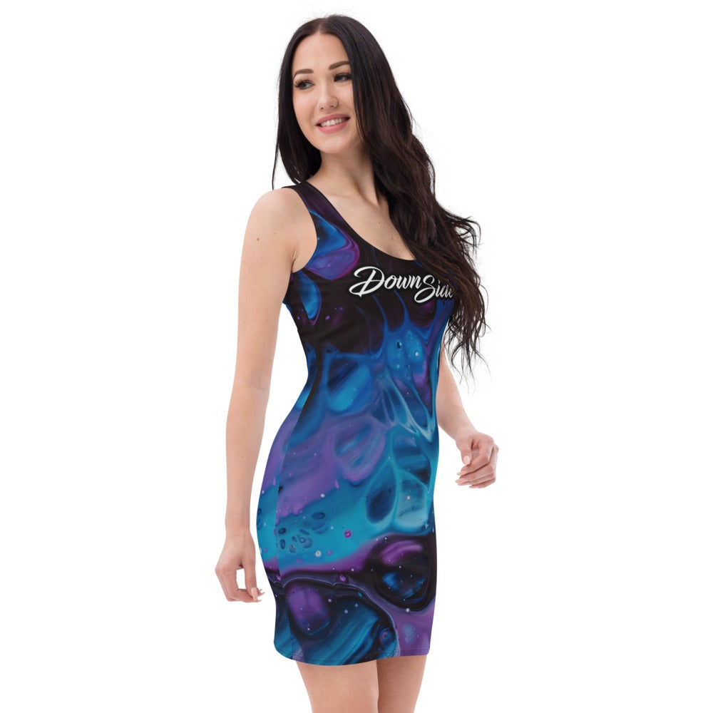Image of Liquid All Over Dress