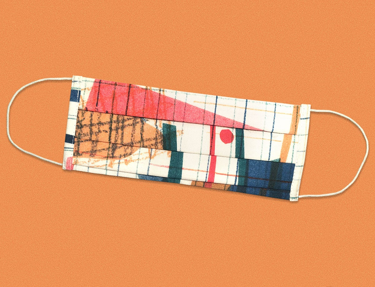 Image of COLOR COLLAGE MASK