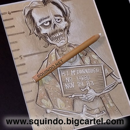 "Image of SKULLVEMBER 11-29-20  ""H.I. McDunnough"" of Raising Arizona,"