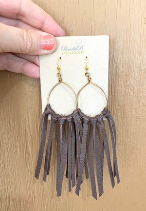 Cowgirl Fringe Earrings