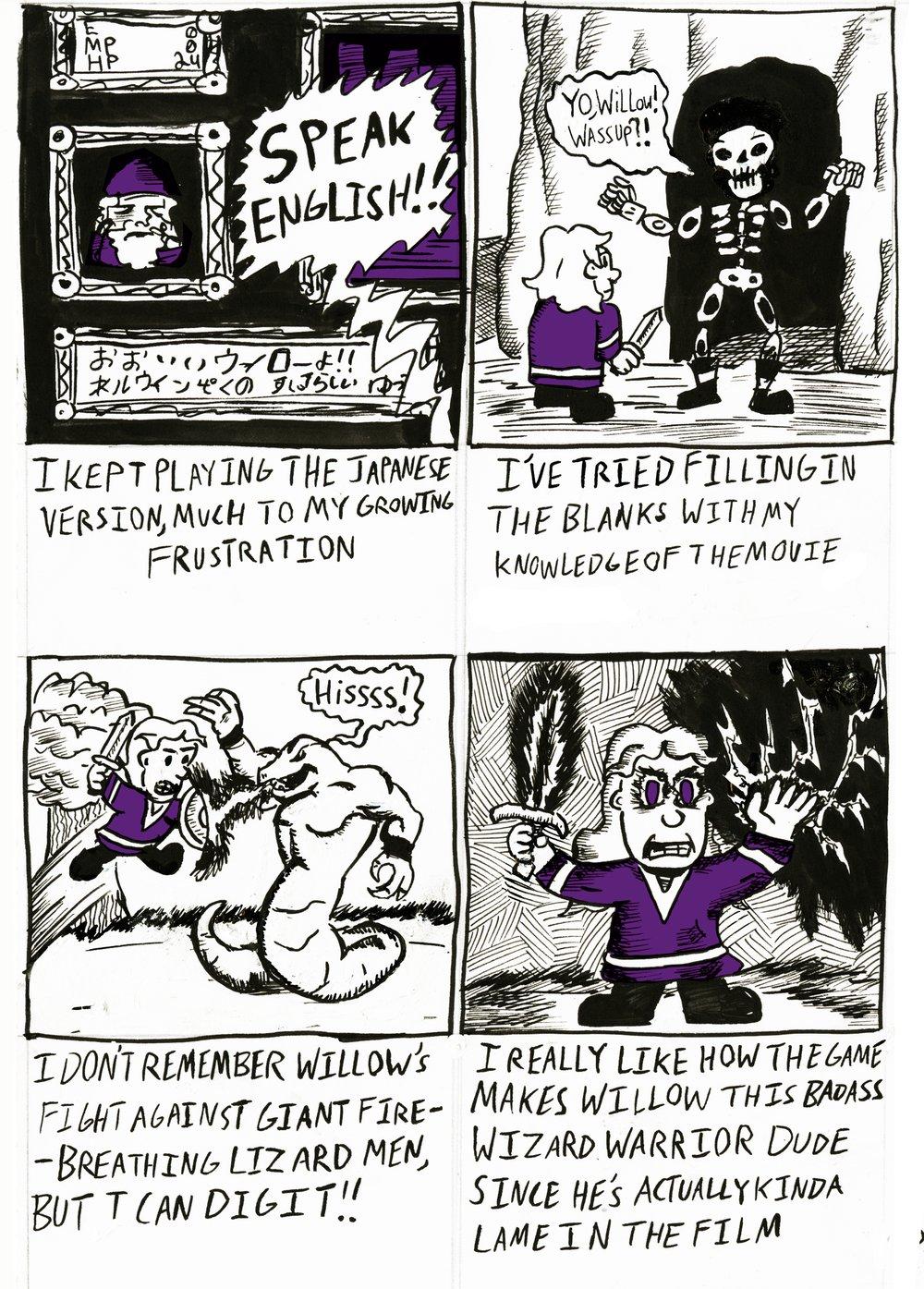Untitled Willow Fan Comic